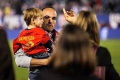 Landon Donovan #10 after match on US International Friendly matc Stock Photo