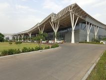 Landplatsflygplatser royaltyfria foton