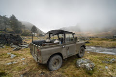 1958 Landrover Stock Afbeelding