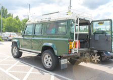 Landrover Royalty Free Stock Images