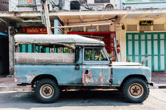 LandRover Series III uppsamling Royaltyfri Foto