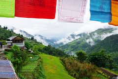 Landruk尼泊尔 库存照片