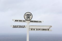 Lands End Royalty Free Stock Image