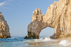 Lands End Cabo San Lucas. Lands End rock formation, also know as El Arco, Cabo San Lucas, Baja California peninsula, Mexico stock image