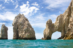 Lands End. In Cabo San Lucas, Mexico stock photography