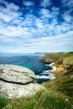Lands End coastline Stock Photography