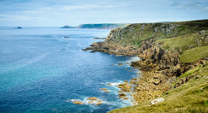 Lands End coastline panorama II Stock Images
