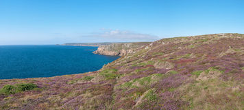 Lands End in Cornwall Royalty Free Stock Images