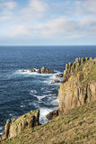 Lands End in Cornwall Stock Photography