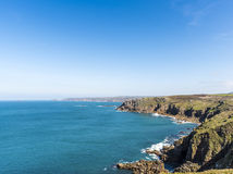 Lands End Cornwall Royalty Free Stock Image
