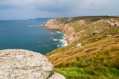 Lands End Cornwall Royalty Free Stock Images