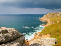 Lands End Cornwall Stock Image