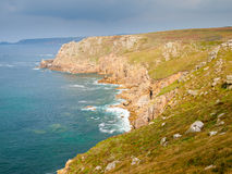 Lands End Cornwall Royalty Free Stock Photo