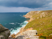 Lands End Cornwall Stock Photography