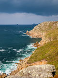 Lands End Cornwall Royalty Free Stock Photography