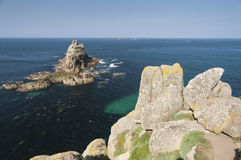 Lands End Cornwall UK Royalty Free Stock Photos