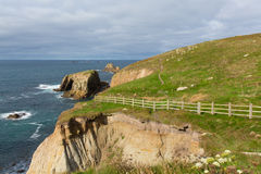 Lands End Cornwall England UK Stock Image