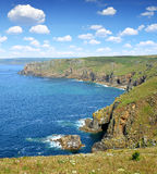 Lands end. In Cornwall,England,UK Royalty Free Stock Images