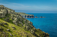 Lands end Royalty Free Stock Photography