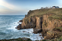 Lands End in Cornwall Royalty Free Stock Photography