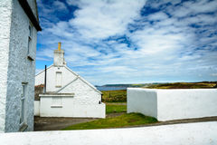 Lands End houses Stock Photography