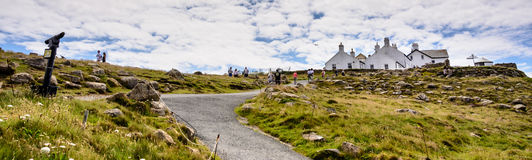 Lands end path - panorama Stock Photography