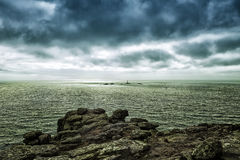Lands End Peninsula in Cornwall UK. Lands End Peninsula in Cornwall Royalty Free Stock Photo