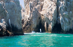 Lands End Rocks in Cabo San Lucas Stock Photography