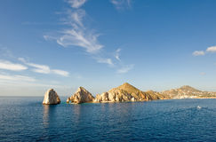 Lands End rocks Cabo San Lucas Royalty Free Stock Images