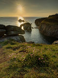Lands End sunset Royalty Free Stock Photo