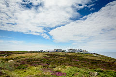 Lands end visitor`s centre - panorama Royalty Free Stock Photography