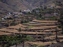 Lands on the island of La Gomera Royalty Free Stock Photo