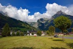 Landsacape de Engelberg Fotos de archivo