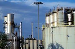 Landsacape industriale Immagini Stock Libere da Diritti