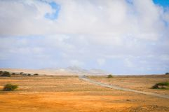 Road to Cape Verde, Africa Royalty Free Stock Image