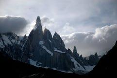 Landsacpe in Cerro Torre. In Argentina Stock Images
