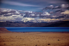Landsacpe in Patagonia. Landscape with lagoon  in Patagonia Stock Photography