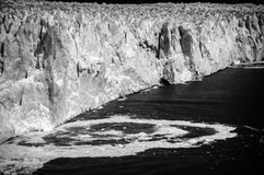 Landsacpe in Perito Moreno. In Argentina Royalty Free Stock Photo