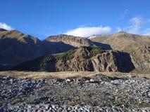 Landsape горы Грузии стоковые изображения