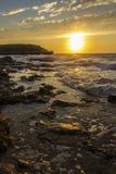 Landsape de coucher du soleil Photos libres de droits