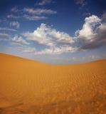 Landsape in desert. Landsape in Tar desert India Stock Photography