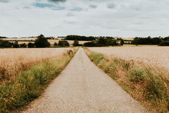 Landsape in England lizenzfreies stockbild