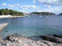 Landsape sur la mer Photographie stock