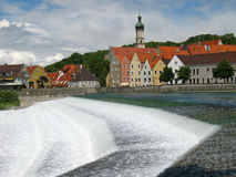 Landsberg on the Lech. In Germany Royalty Free Stock Images