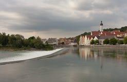 Landsberg am Lech - Alemania imagen de archivo