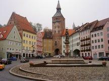 Landsberg am Lech, Alemania 12 10 2012 Foto de archivo libre de regalías