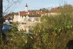 Landsberg am Lech no verão Fotografia de Stock Royalty Free