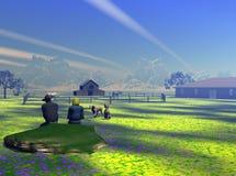 landsbygdsboende Arkivbild