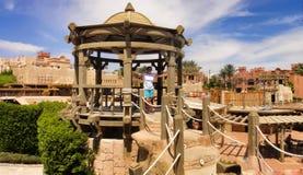 Landscap no hotel de Egito Imagem de Stock