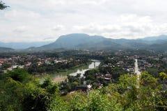 Landscap prabang Luang в Lao Стоковое Изображение